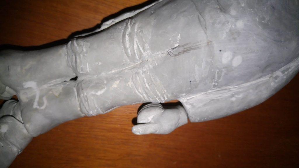 mão incluída