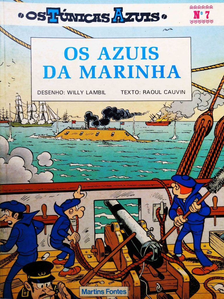 Os Túnicas Azuis 7 - Martins Fontes