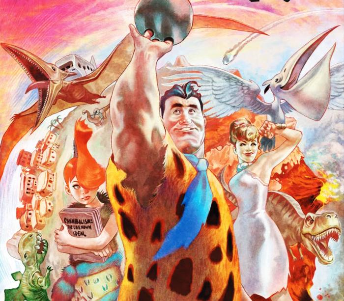 Os Flintstones Vol 1 Da Uma Bela Repaginada Em Classico Desenho